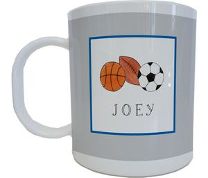 Sports Mug from Kelly Hughes Designs
