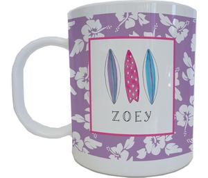 Surfer Girl Mug from Kelly Hughes Designs