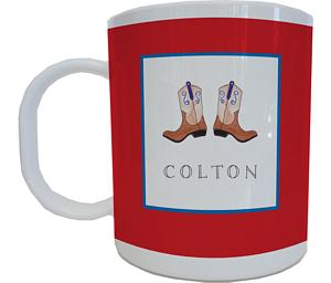 Cowboy Mug from Kelly Hughes Designs