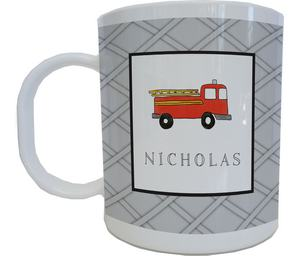 Firetruck Mug from Kelly Hughes Designs