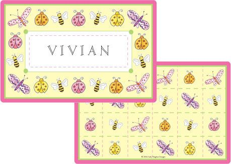 Garden Party Placemat from Kelly Hughes Designs