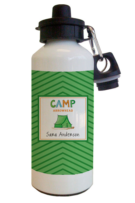 Camp Water Bottle from Kelly Hughes Designs