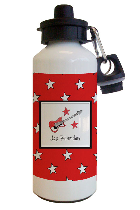 Rockstar Water Bottle from Kelly Hughes Designs