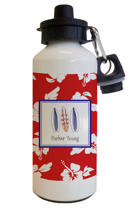 Surfs Up Water Bottle from Kelly Hughes Designs