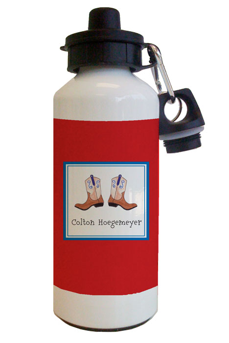 Ridem Cowboy Water Bottle from Kelly Hughes Designs