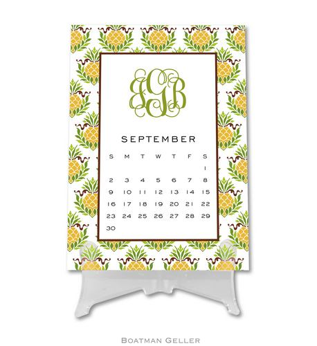 Personalized Desk Calendars & Pads from Boatman Geller