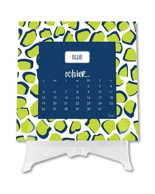 Dabney Lee - Desk Calendar